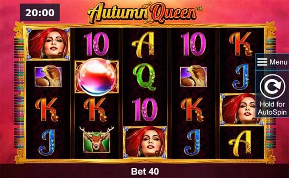 Autumn Queen Slot Game Reels