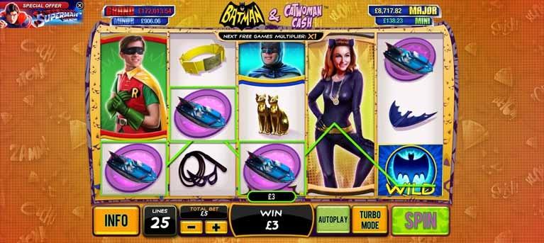 Play Batman & The Batgirl Bonanza Slots Online at Casino.com New Zealand