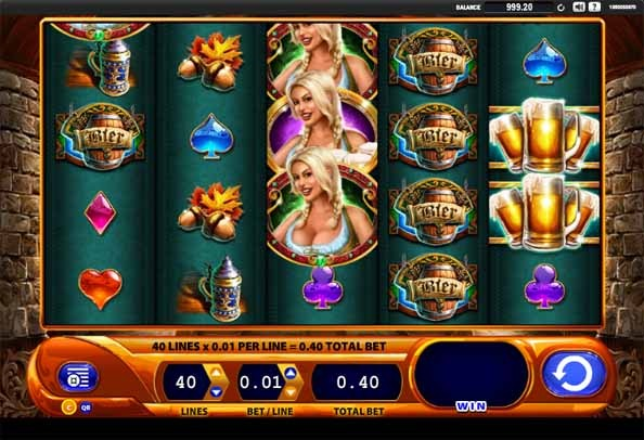 Bier Haus Slot Game Reels