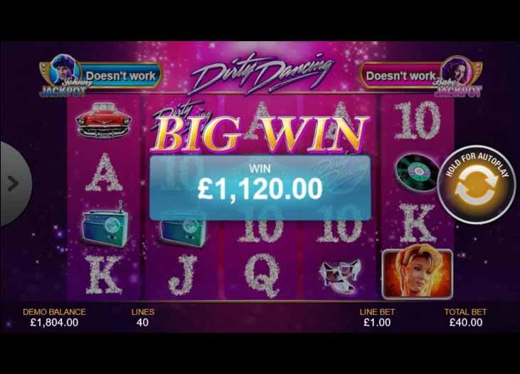 Dirty Dancing Slot Bonus