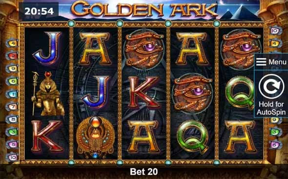 Golden Ark Slot Game Reels