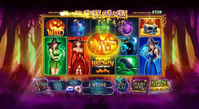 Halloween Fortune 2 Slot Bonus