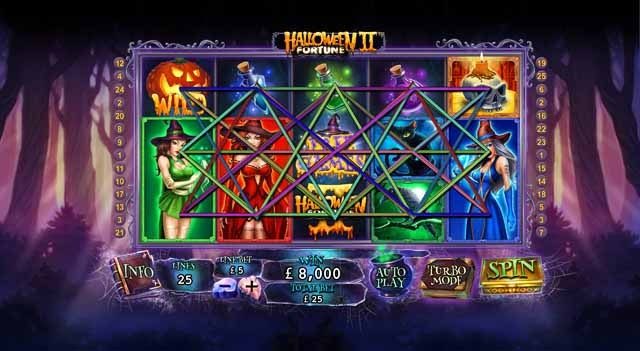 Halloween Fortune 2 Slot Paytable