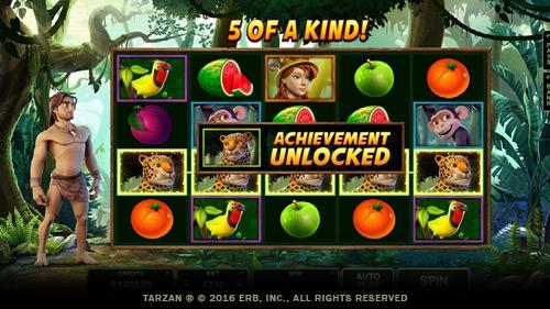 Tarzan Slot Bonus