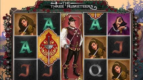 The Three Musketeers Slot Game Reels