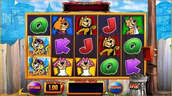 Top Cat Slot Game Reels