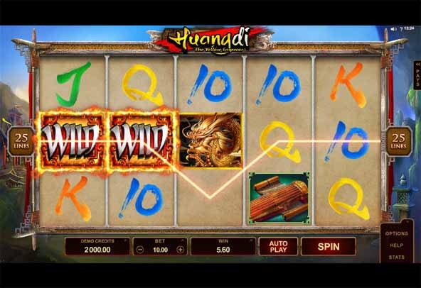 Huangdi The Yellow Emperor Slot Game Reels