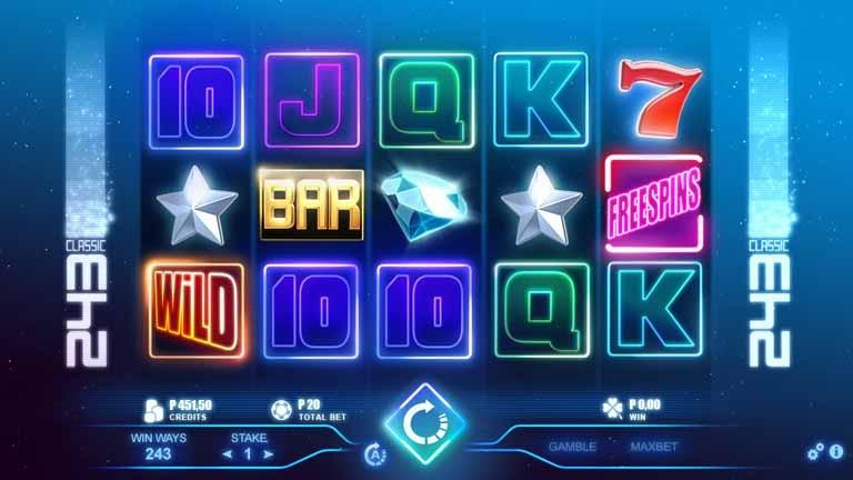 Classic 243 Slot Game Reels