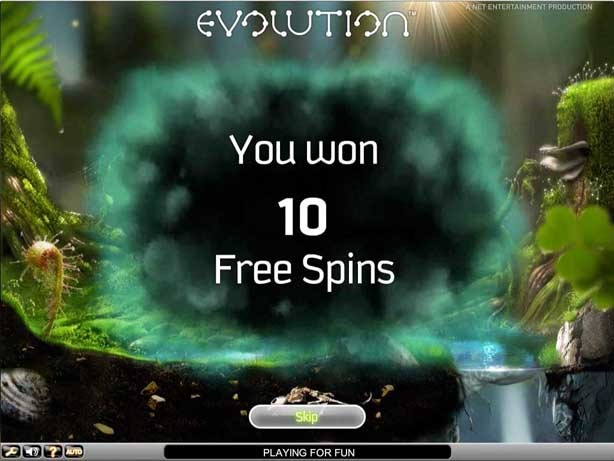 Evolution Slot Paytable