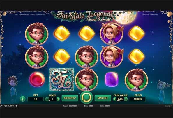 Fairytale Legends: Hansel & Gretel Slot Game Reels