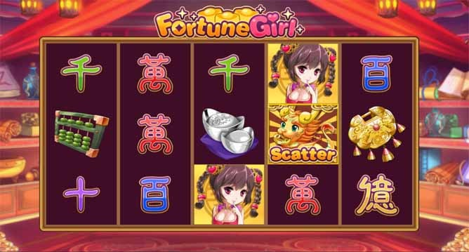 Fortune Girl Slot Game Reels