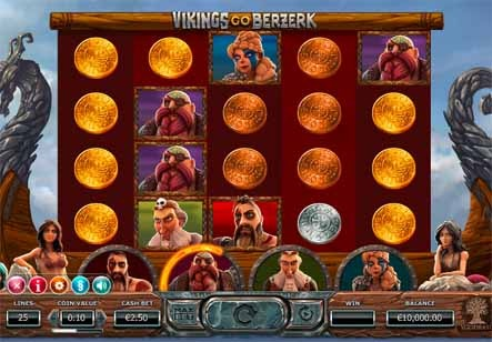 Vikings Go Berserk Slot Game Reels