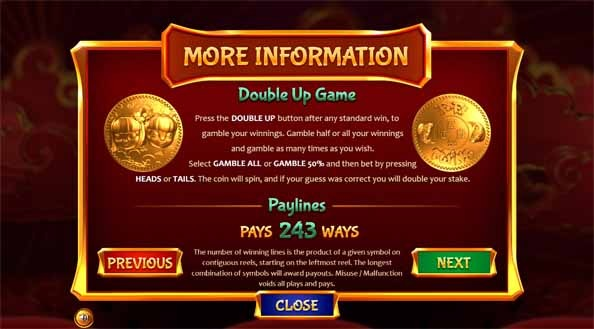 Fa Fa Twins Slot Game Bonus