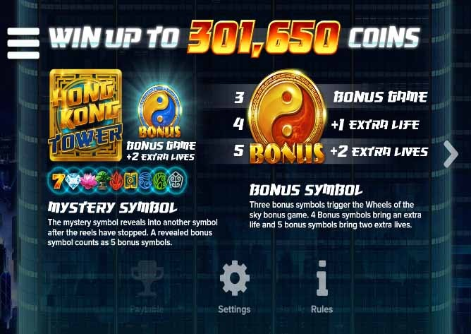 Hong Kong Tower Slot Game Bonus