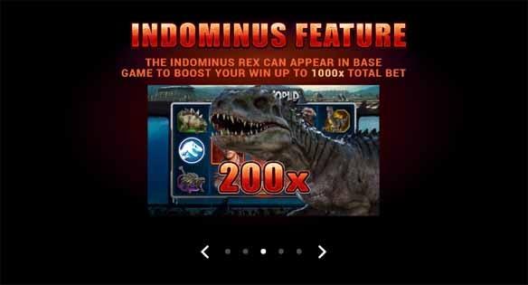 Jurassic World Slot Bonus