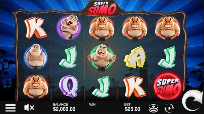 Super Somo Slot Game Reels