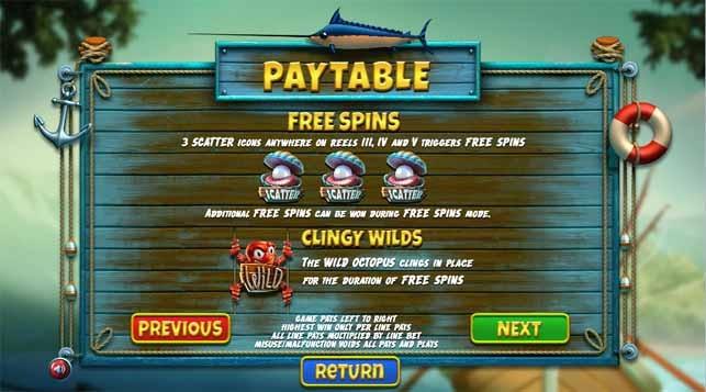 The Angler Slot Game Bonus