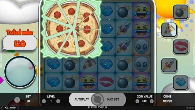 Emoji Planet Slot Bonus