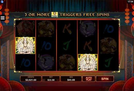 Six Acrobats Slot Bonus