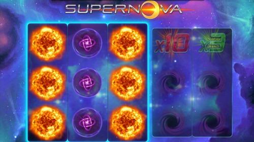 Supernova Slot Game Reels
