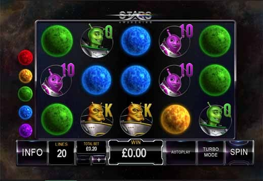 Stars Awakening Slot Game Reels