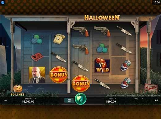 Halloween Slot Game Reels