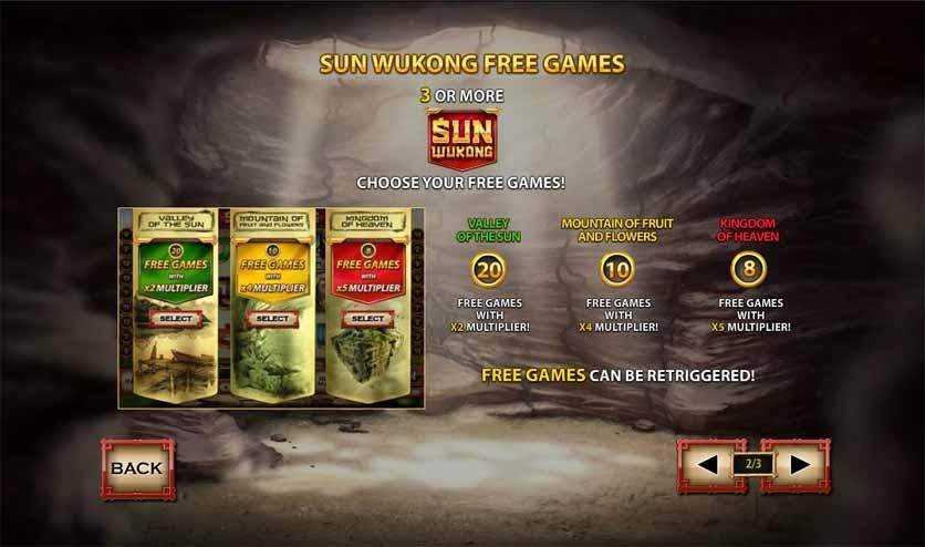 Sun Wukong Slot Bonus