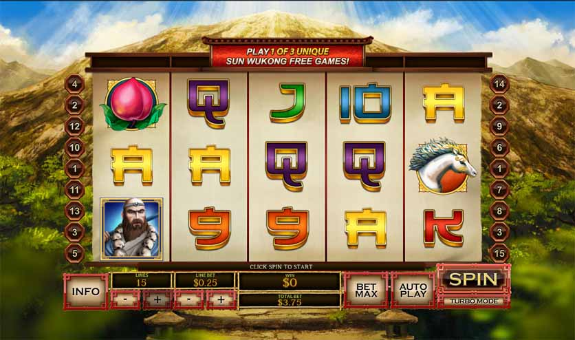 Sun Wukong Slot Game Reels