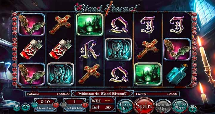 Blood Eternal Slot Game Reels