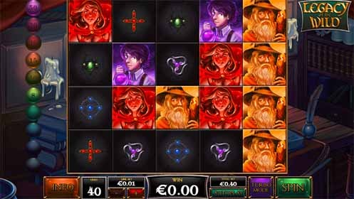 Legacy of the Wild Slot Game Reels