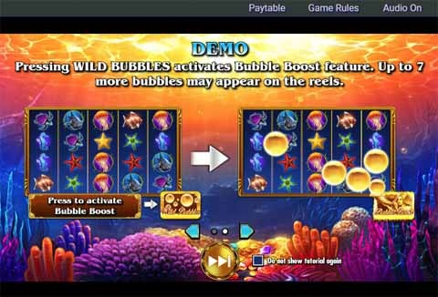 Ocean Magic Slot Bonus