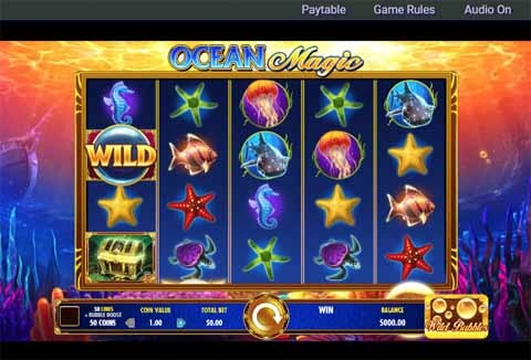 Ocean Magic Slot Game Reels