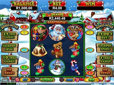 Santastic Slot Game Reels