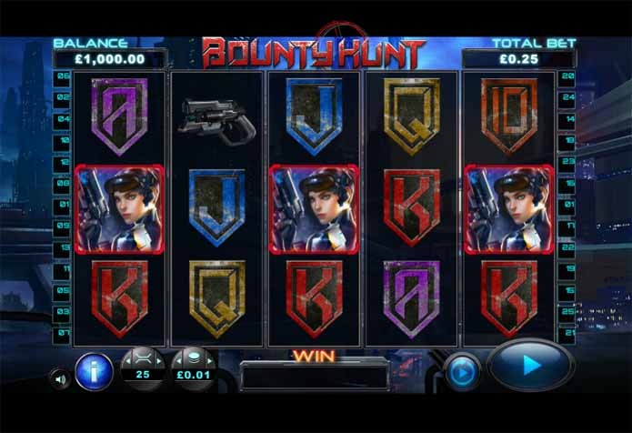 Bounty Hunt Slot Game Reels