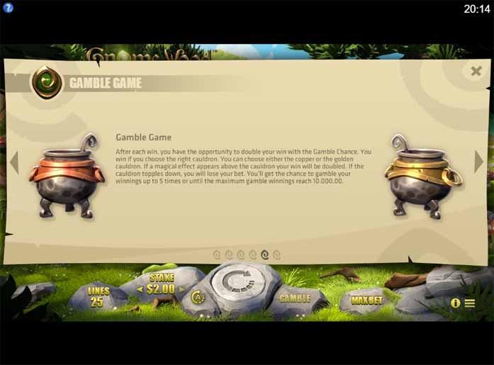 Gnome Wood Slot Bonus