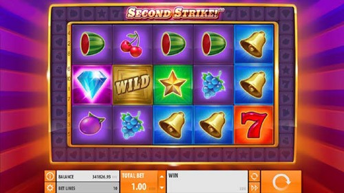 Second Strike Slot Game Reels
