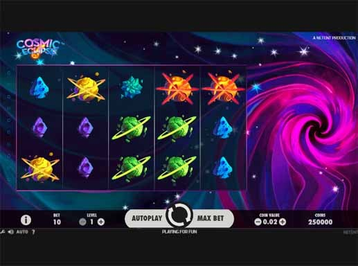 Cosmic Eclipse Slot Game Reels