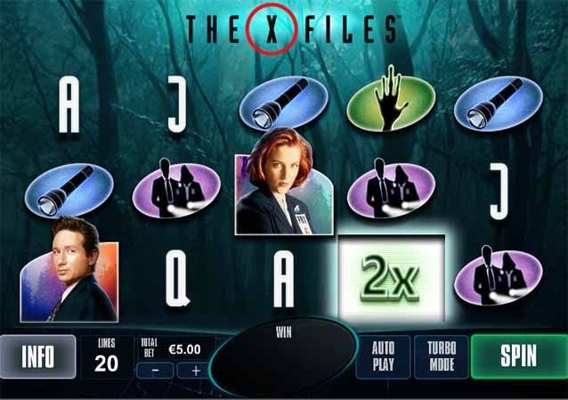 The X-Files Slot Game Reels