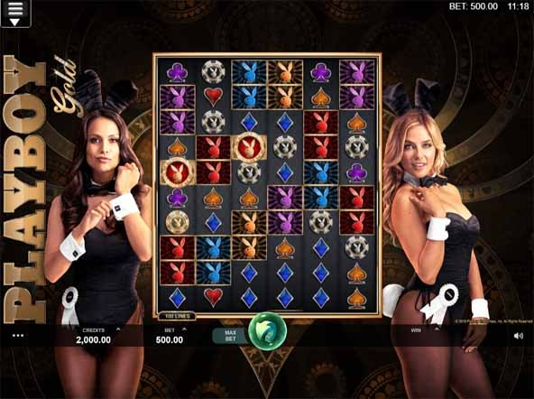 Playboy Gold Slot Game Reels