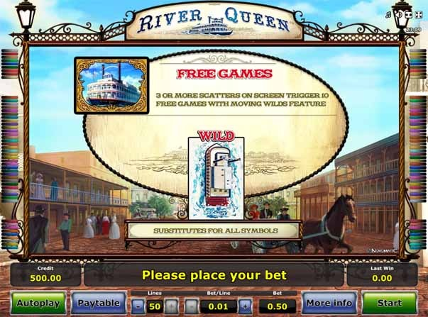 River Queen Slot Bonus