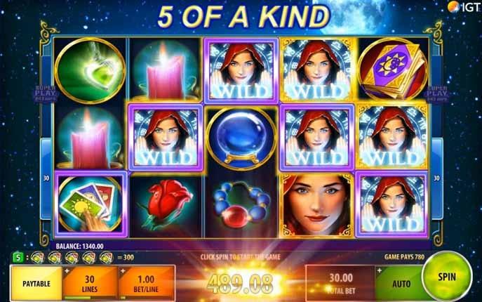 Gypsy Moon Slot Bonus