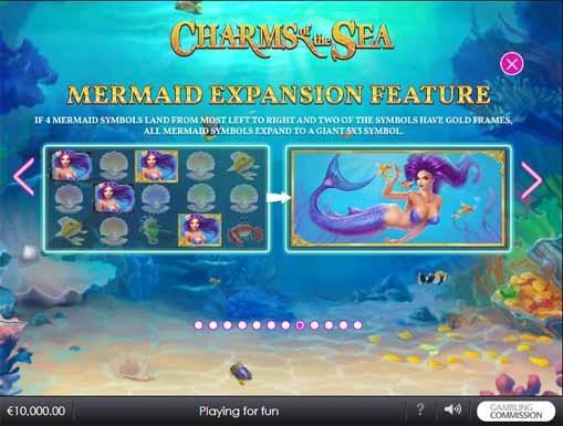 Charms of the Sea Slot Bonus
