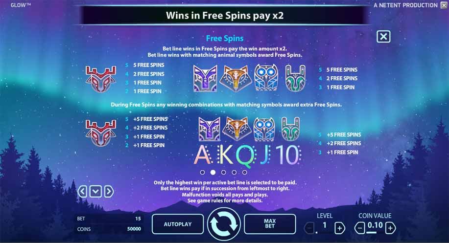 Glow Slot Bonus