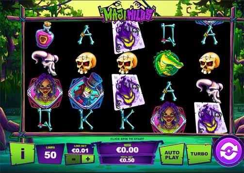 Maji Wilds Slot Game Reels