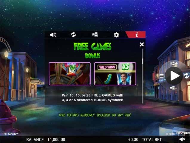 The Mask Slot Bonus