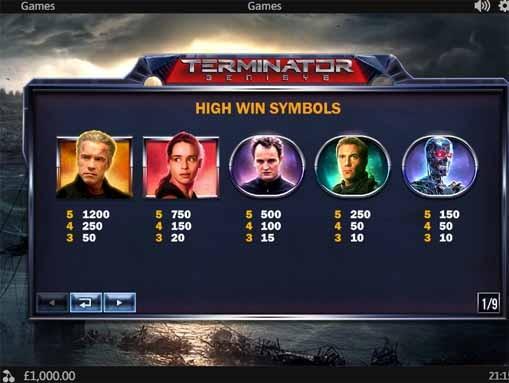 Terminator Genisys Slot Bonus