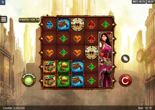 Fortunium Slot Game Reels
