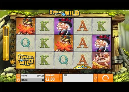 Dwarfs Gone Wild Slot Game Reels