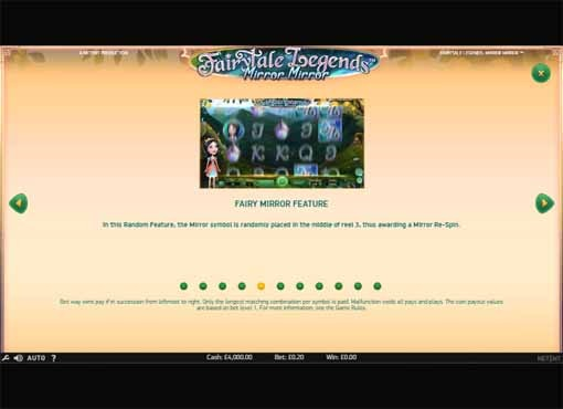 Fairytale Legends: Mirror Mirror Slot Bonus