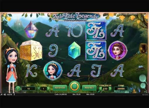 Fairytale Legends: Mirror Mirror Slot Game Reels